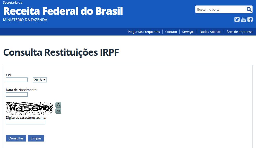 COMO CONSULTAR O IRPF 2