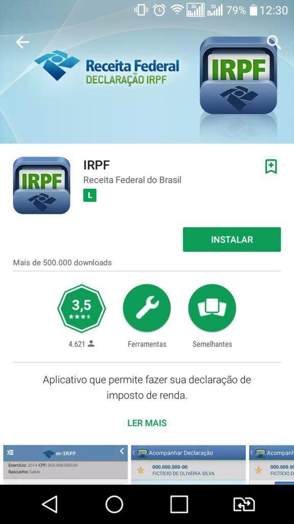 IRPF APLICATIVO