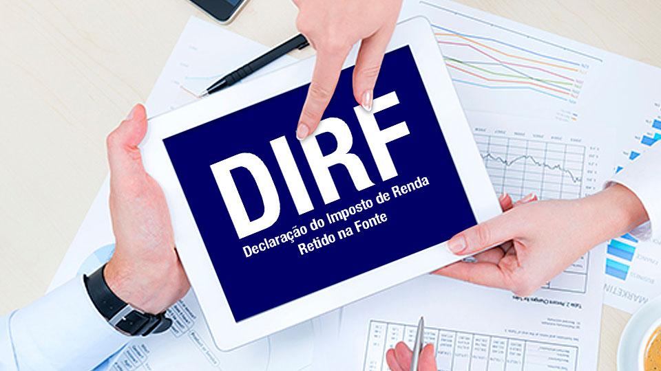 Quem deve apresentar a DIRF 2020