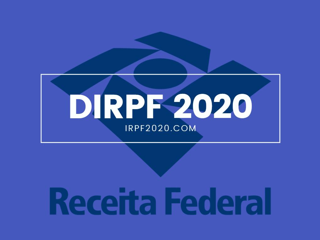 Resultado de imagem para receita federal iprf 2020